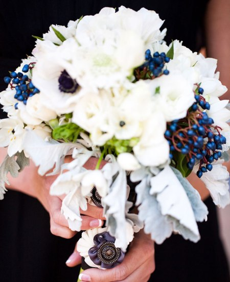 Elderberry Bouquet | Michael Norwood Photography | blog.theknot.com