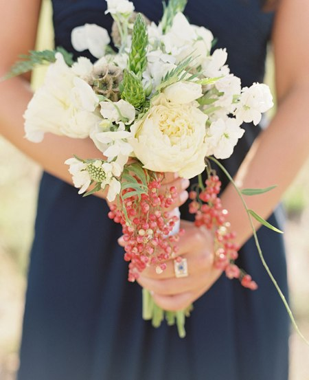 Red Currant Bouquet | Sara Hasstedt Photography | blog.theknot.com